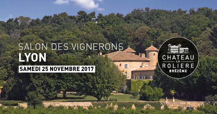 1er salon des vignerons ing nieurs ch teau la roli re for Salon de l industrie lyon 2017